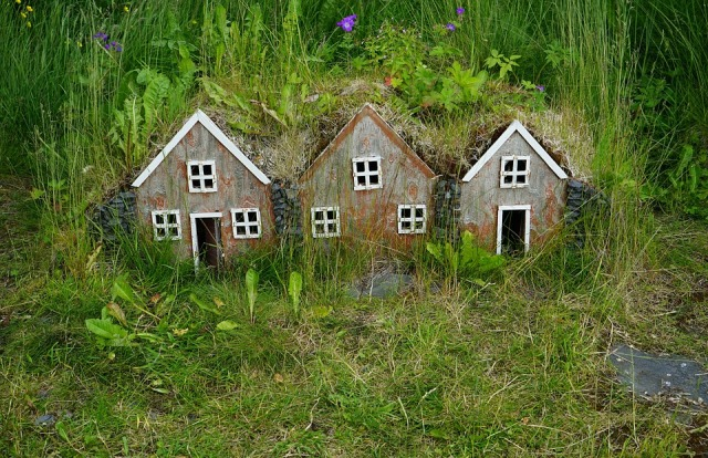 Small Houses Models Feenhaus Iceland Miniature